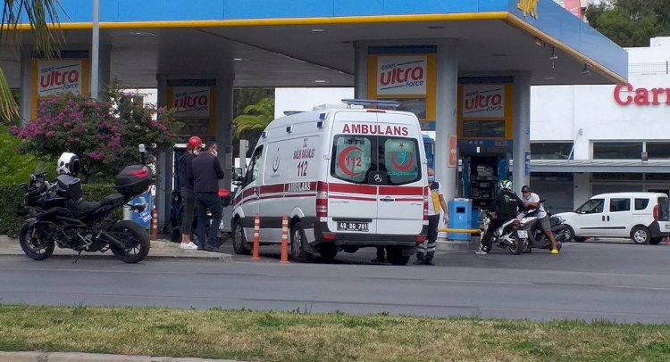Yine Motosiklet Kazası; 1 Yaralı!