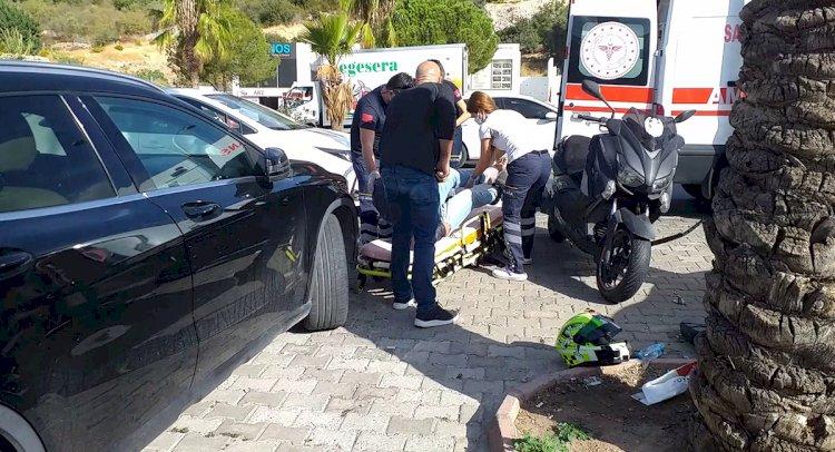 Ehliyetsiz Sürücü Kaza Yaptı!..