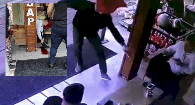 Kasap Dükkanı Sahibine Silahlı Saldırı!