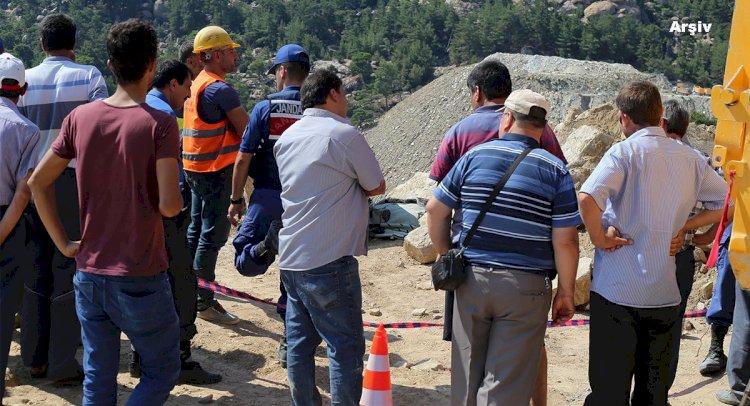 Maden Ocağında Yüksekten Düşen İşçi Öldü
