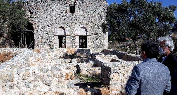 Beçin Antik Kenti'nde Kazılar Sürüyor