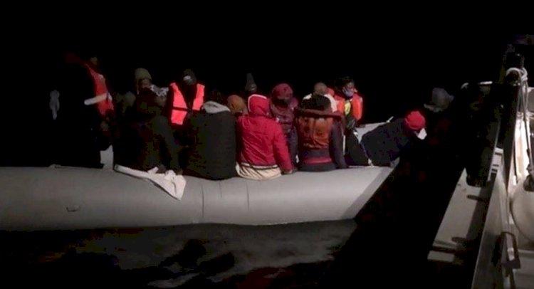 Mahsur Kalan 19 Göçmen Kurtarıldı