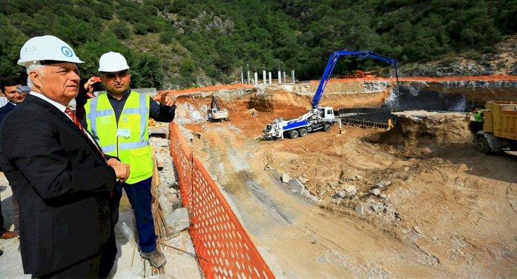 Fethiye'de Kanalizasyonun Üçte 1'i Tamamlandı