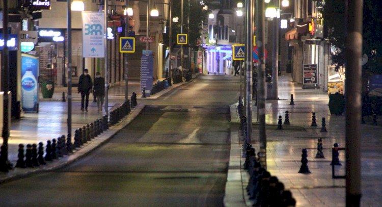 Sokaklar Yine Sessizliğe Büründü