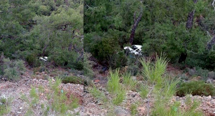 Uçuruma Düşen Otomobilin Sürücüsü Kurtarıldı