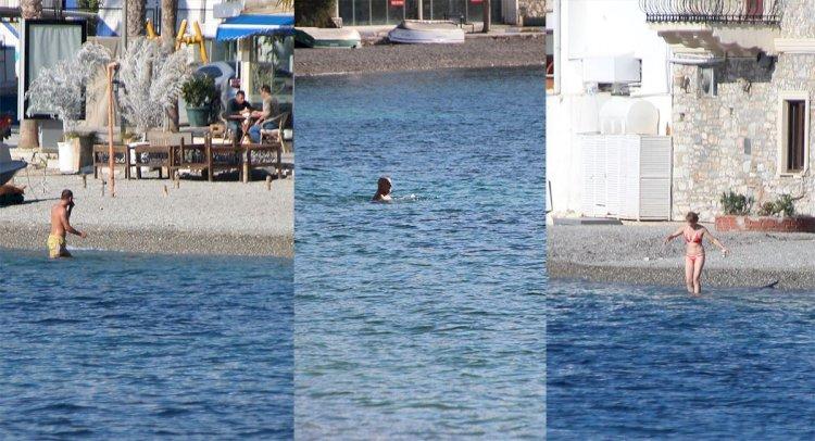 Yasakta Deniz Keyfi Yaptılar!..