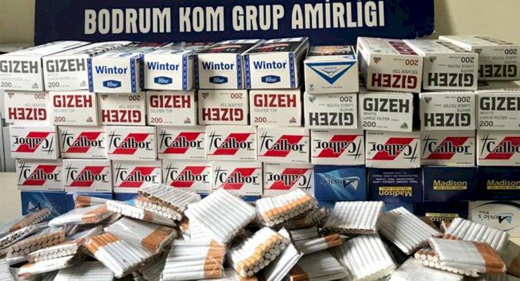 Bodrum'da Kaçak Tütün Operasyonu