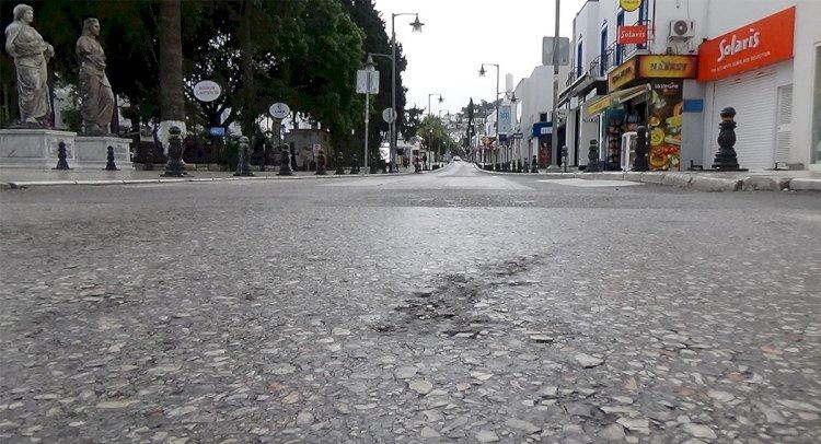 Kısıtlamada Sokaklar Sakin...