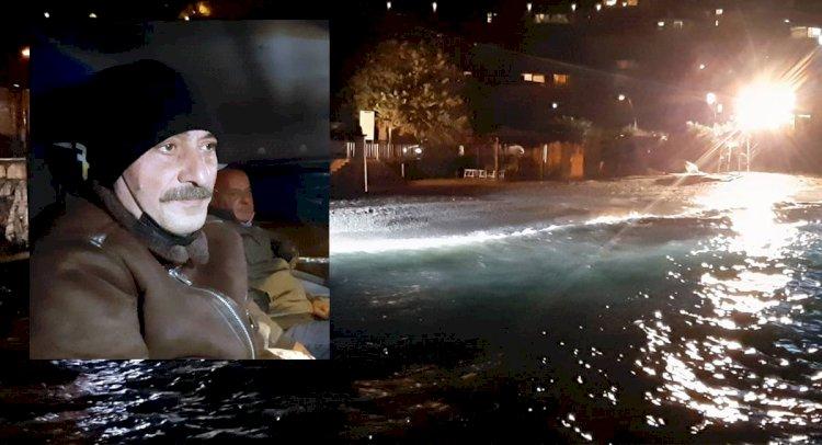 Denize Düşen 2 Kişiyi Dizi Ekibi Kurtardı