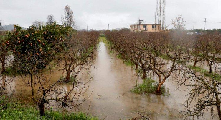 Tarım Arazileri Su Altında Kaldı