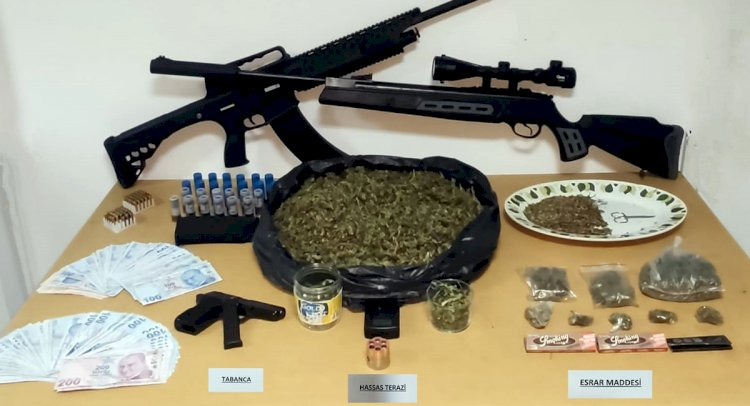 Akyarlar'da Uyuşturucu Operasyonu