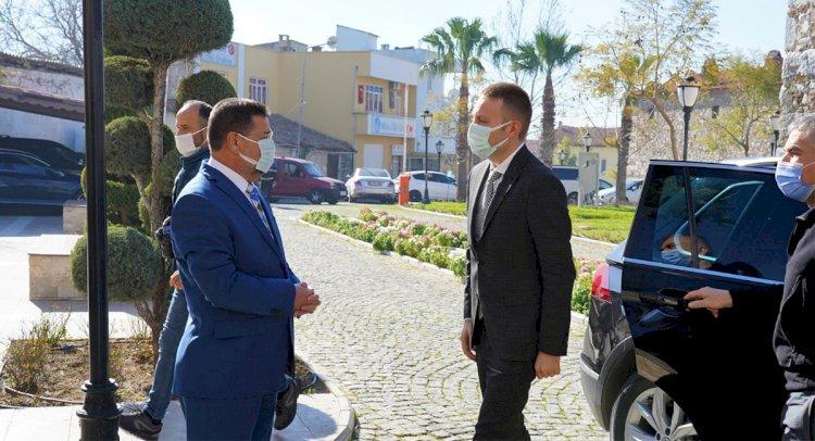 Kaymakam Böke'den Tokat'a İadei Ziyaret