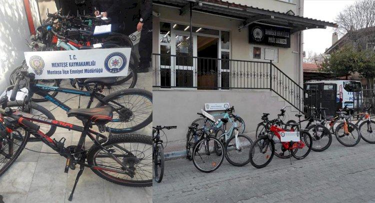 Çaldığı Bisikletleri İnternetten Satıyormuş