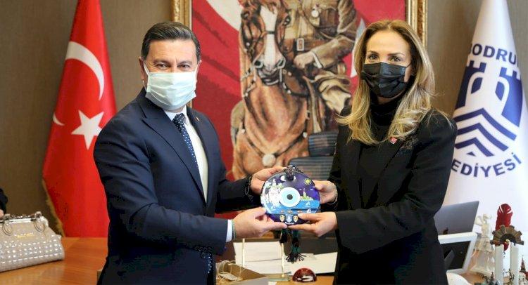 Nazlıaka'dan Başkan Aras'a Ziyaret