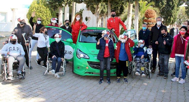 Engelli Gençlerin Ralli Heyecanı