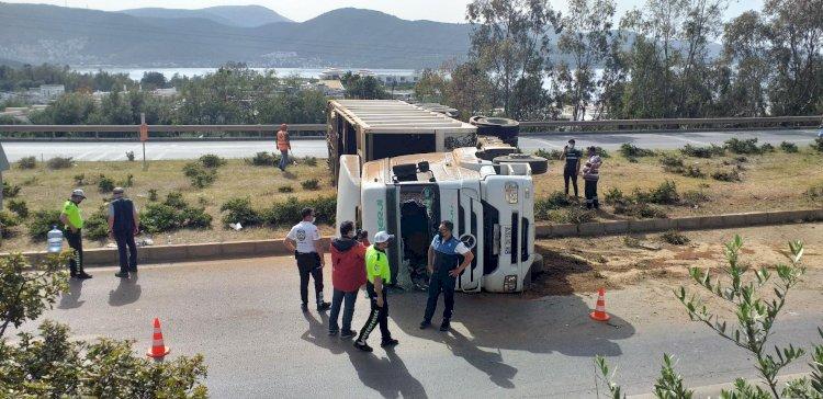 Kaynar'da TIR Kazası; 1 Yaralı