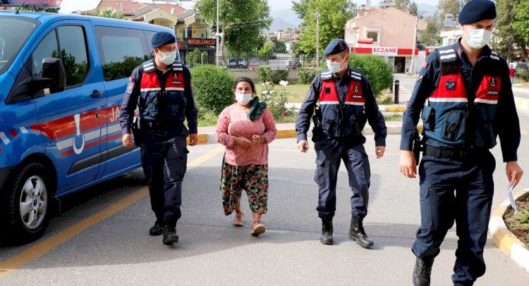 8 Yıl Hapis Cezası Bulunan Kadın Yakalandı