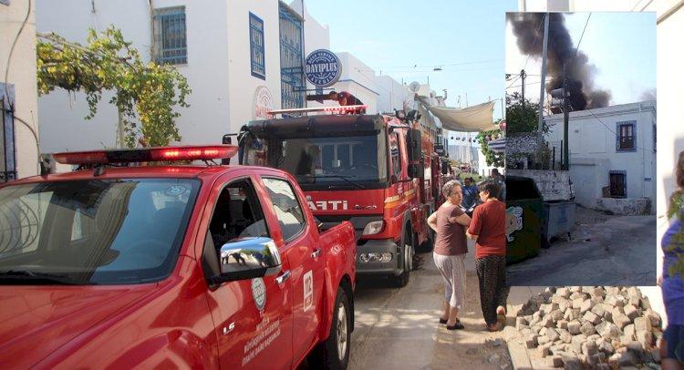 Hamam Sokak'ta Yangın Paniği