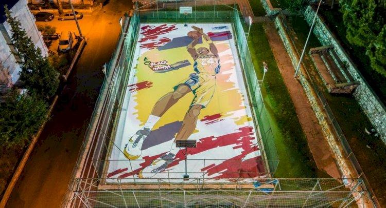 Milas'ta Kobe Bryant Anısına Mural Art