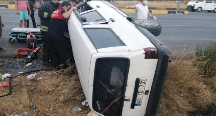 Milas - Bodrum Yolunda Kaza; 1 Yaralı