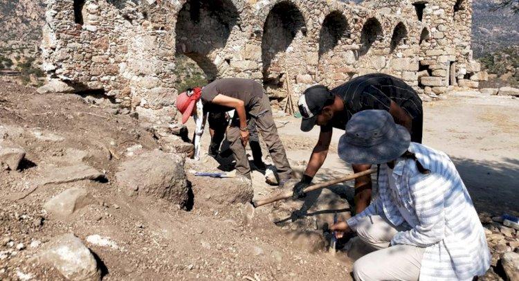 Heraklia'da Kazılar Başladı