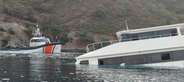 Batan Teknedeki 3 Kişi Kurtarıldı
