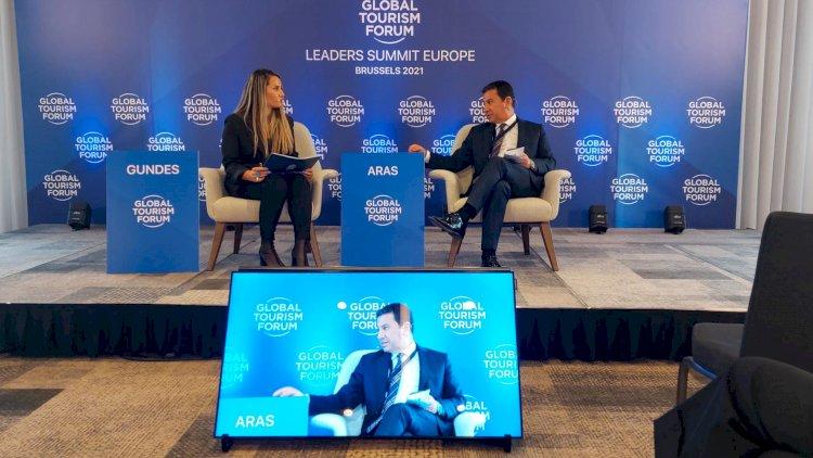 Başkan Aras Forumda Konuştu